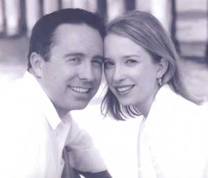 Tim Norcross, DO. '04, and Gwenne Kyle, DO, '03