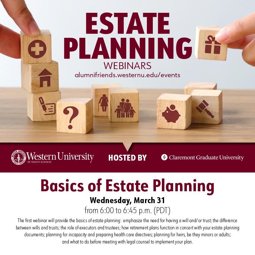 Basics of Estate Planning Webinar