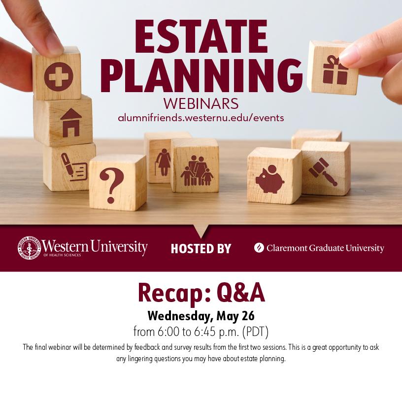 Estate Planning Recap: Q&A Webinar